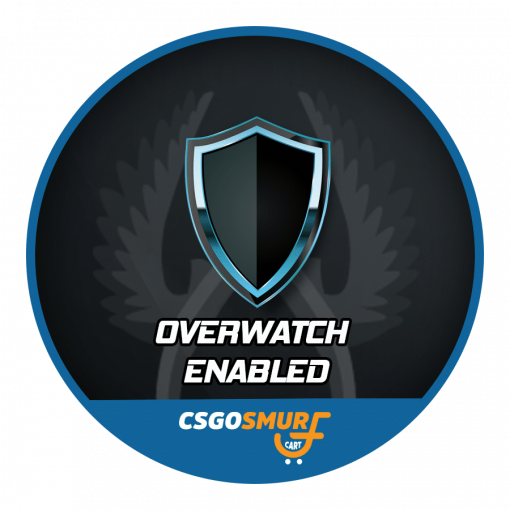 Overwatch Enabled Prime Ranked CSGO Smurf Account