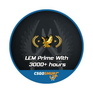 LEGENDARY EAGLE 3000+ HOURS PRIME [ MARKET ENABLED + CAN ADD FRIENDS ]