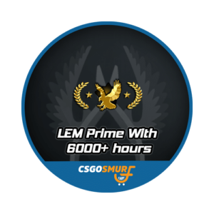 LEGENDARY EAGLE 6000+ HOURS PRIME [ MARKET ENABLED + CAN ADD FRIENDS ]